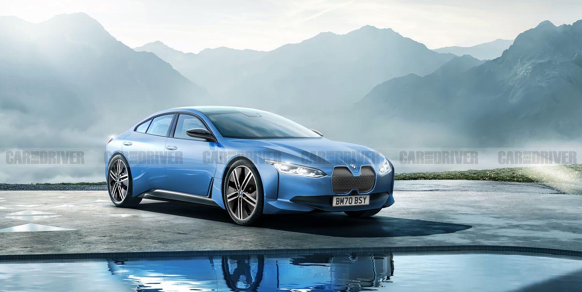 2022 BMW i4 – New Electric Sports Sedan