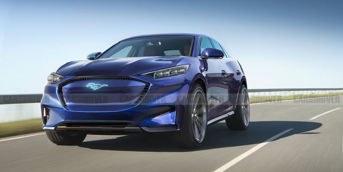 2021 Ford Mach E Will Combine Electric Power with Mustang Styling