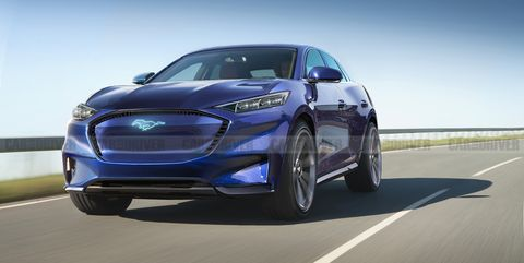 2021 Ford Mach E Is Ford's First Electric SUV >> 2021 Ford Mach E New Mustang Inspired Electric Suv