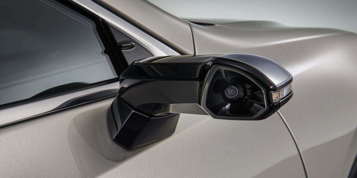 Car Side Mirrors Are Being Replaced By Cameras
