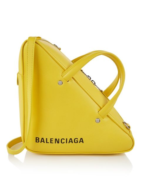 Bag, Handbag, Yellow, Fashion accessory, Shoulder bag, Leather, Tote bag,