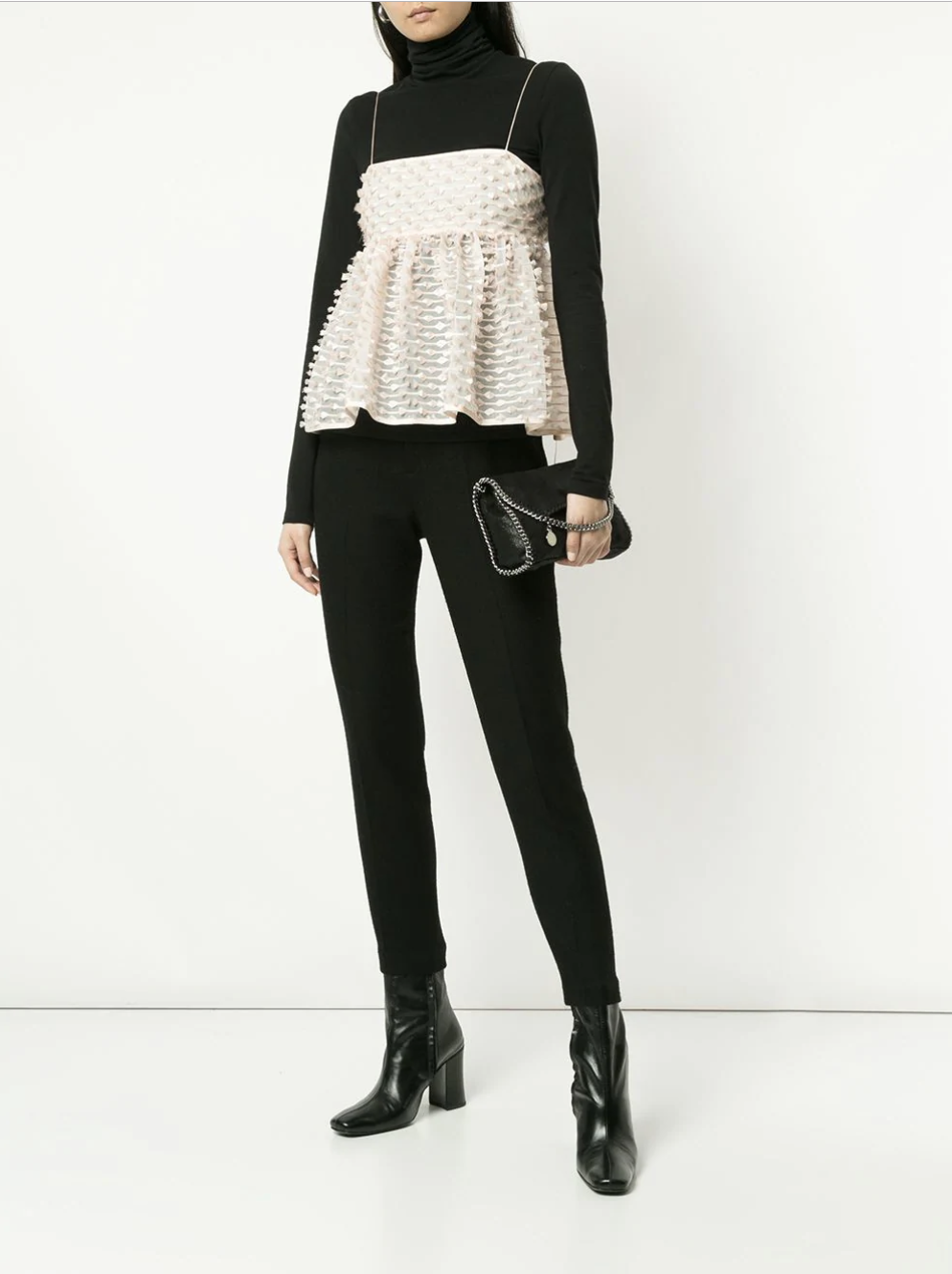 Cecilie Bahnsen top - via Farfetch