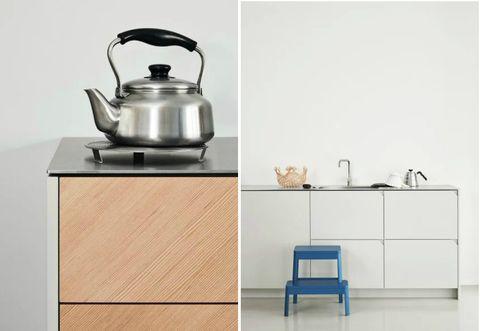 Gli armadi Ikea Metod diventano una cucina progettata da ...