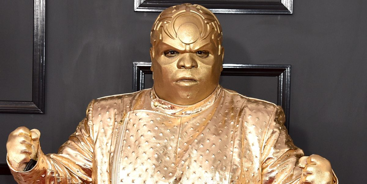 Funniest Tweets About Ceelo Green S Gold Grammys Outfit Ceelo Green Twitter Reactions