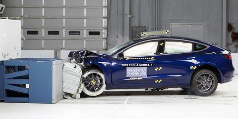 2019 Tesla Model 3 Named IIHS Top Safety Pick Plus
