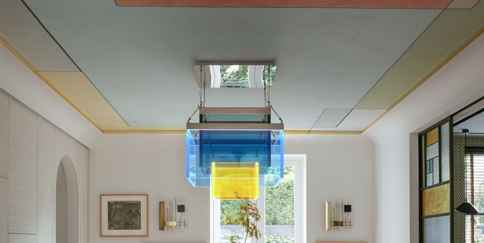 Trend Alert How To Paint Your Ceiling