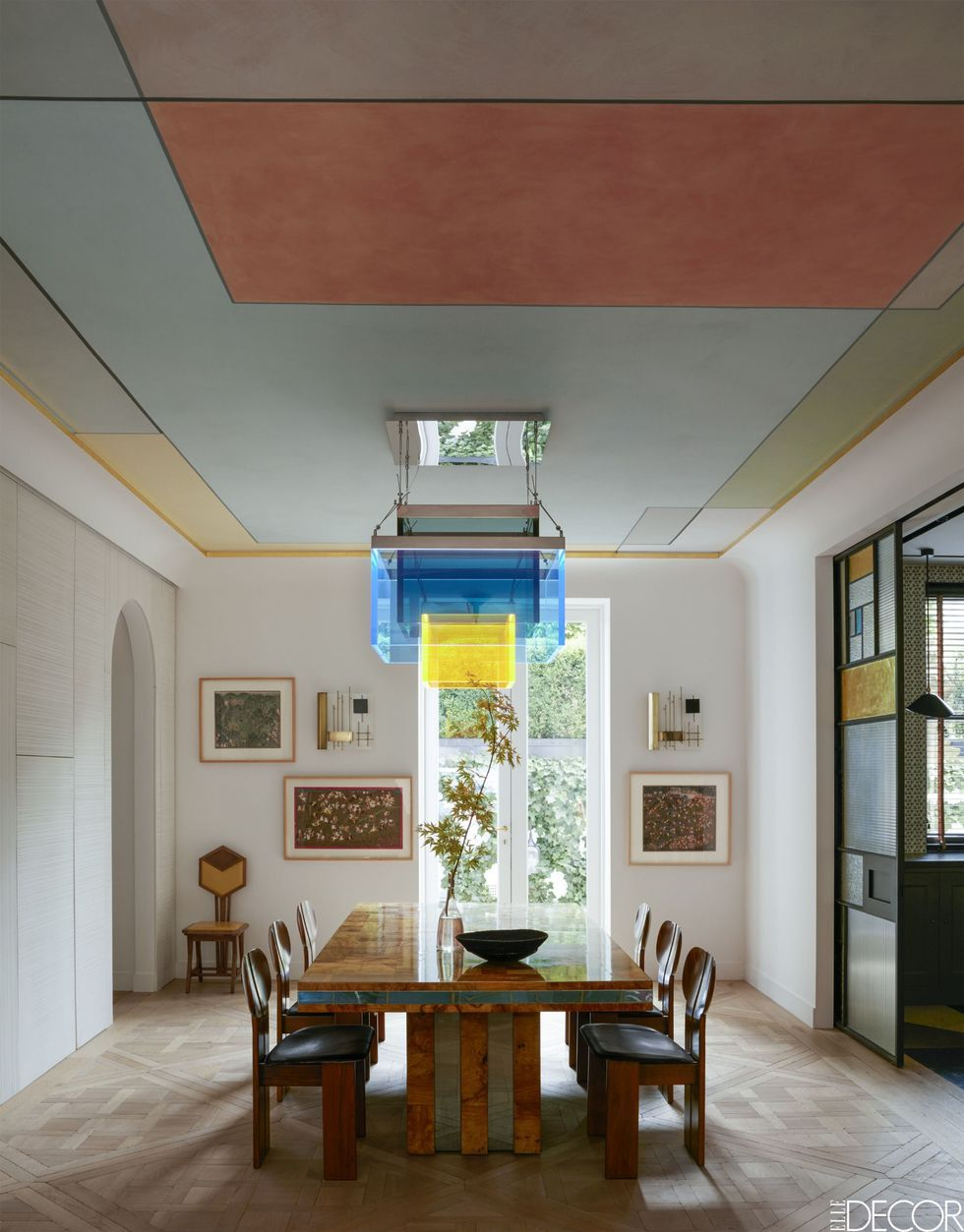 Trend Alert: How To Paint Your Ceiling
