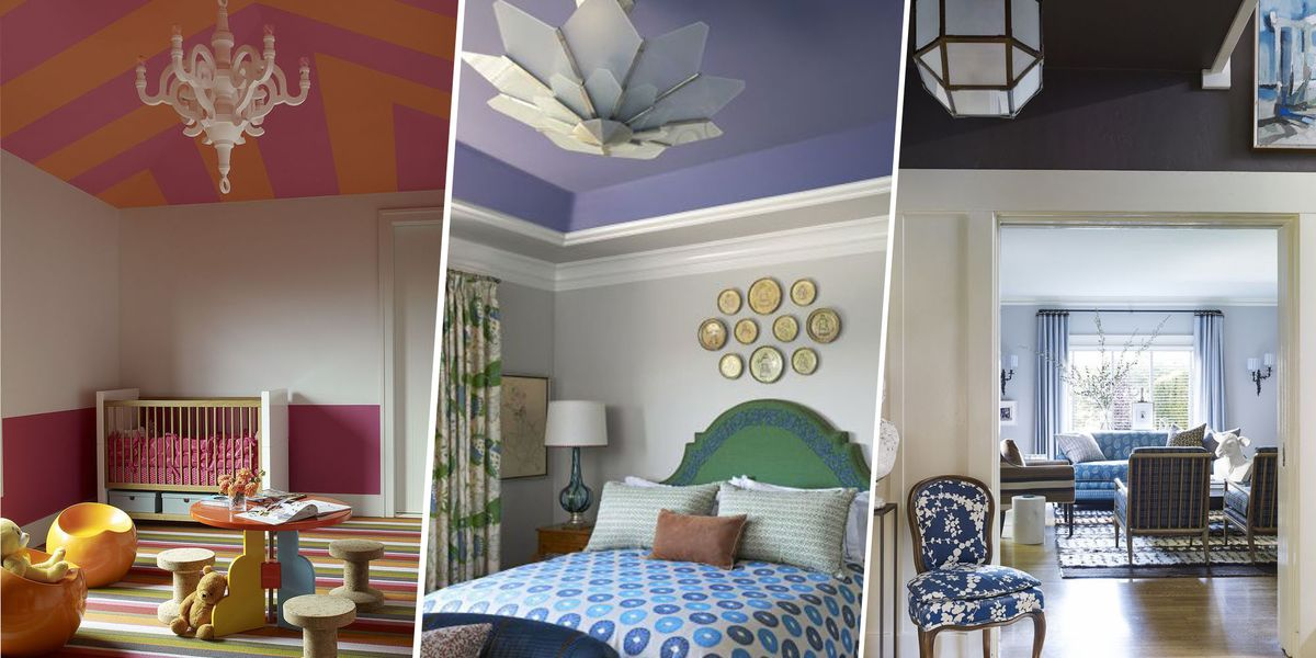 How To Paint Your Ceiling Statement Ceiling Paint