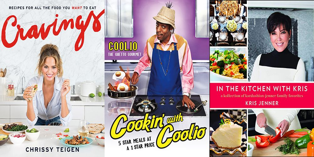 The Best Celebrity Cookbooks To Buy Now
