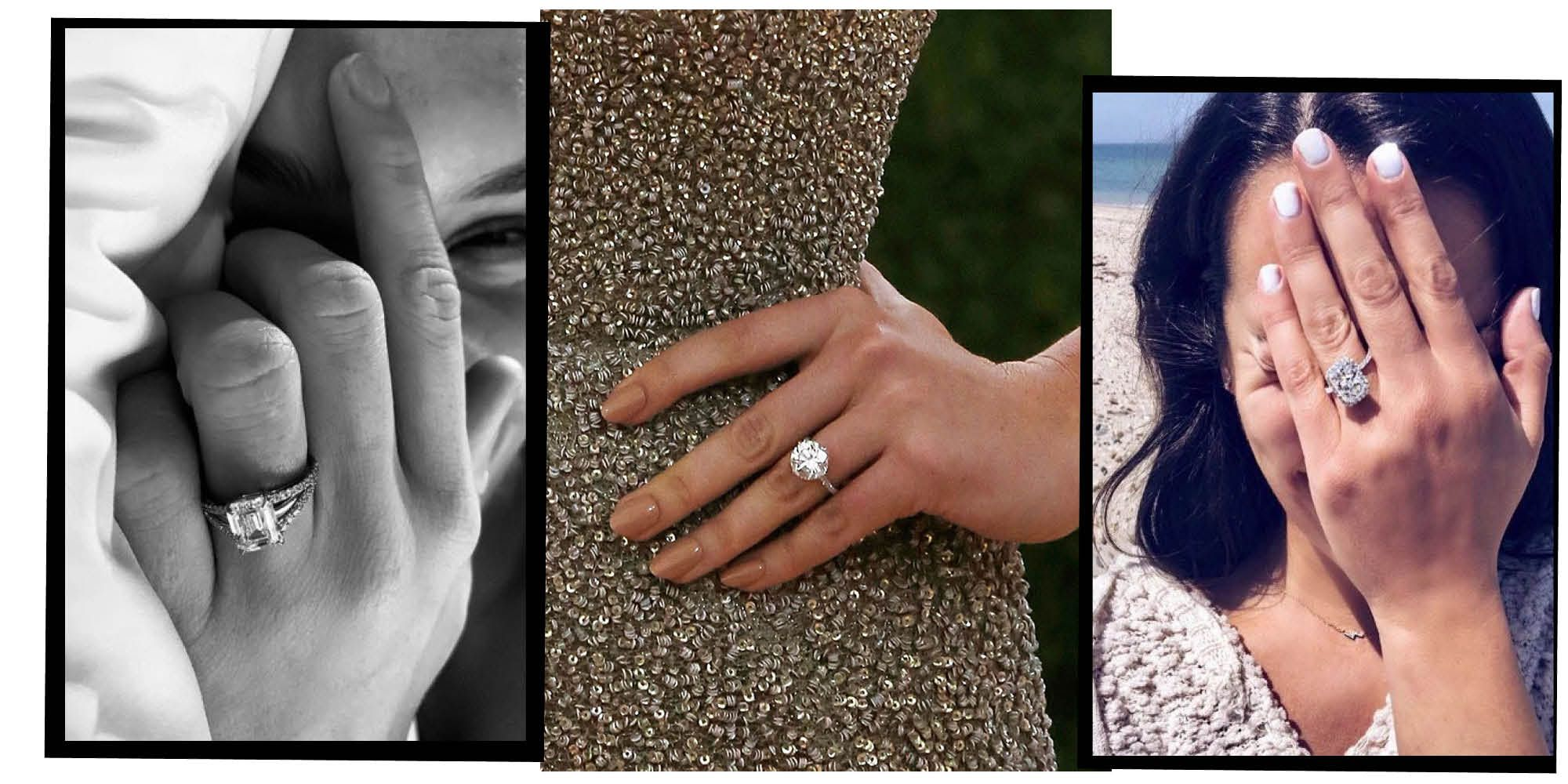 The Best A-List Engagement Rings