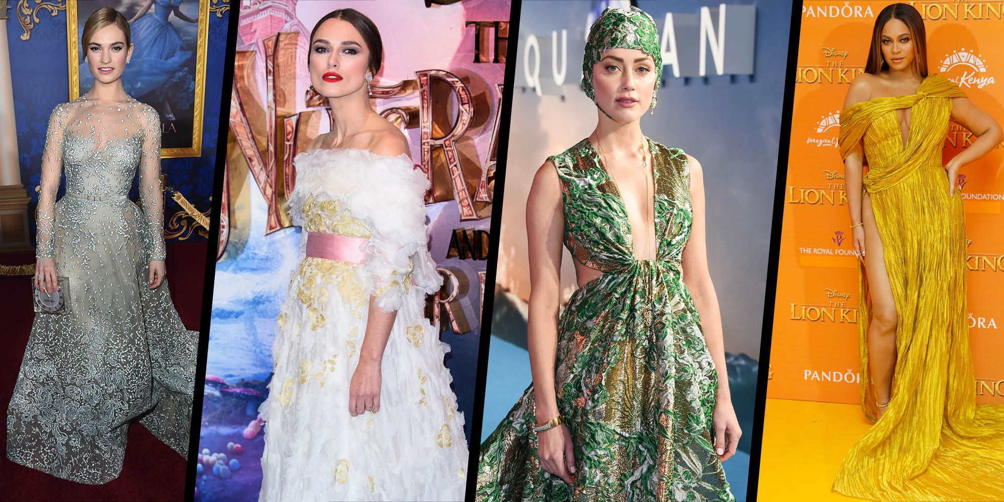 15 celebrities whose red-carpet looks have been inspired by their movies
