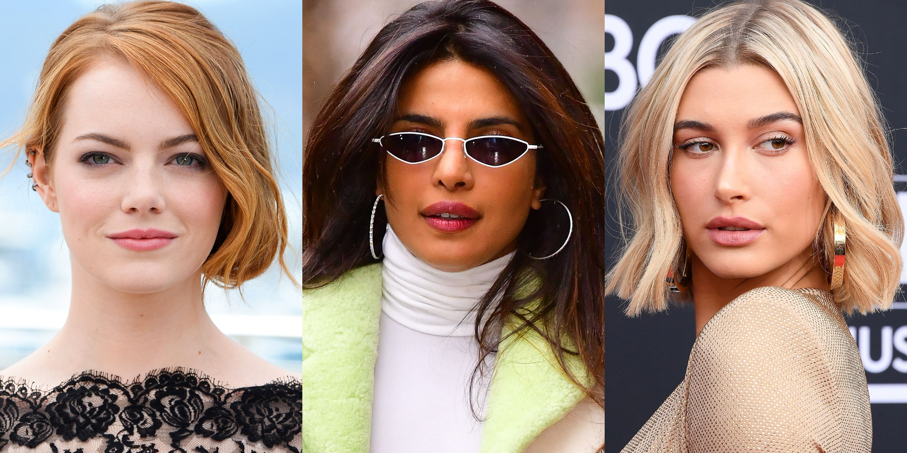 Hairstyles 2019 Female Pinterest: Best Celebrity Hair Transformations Of 2019