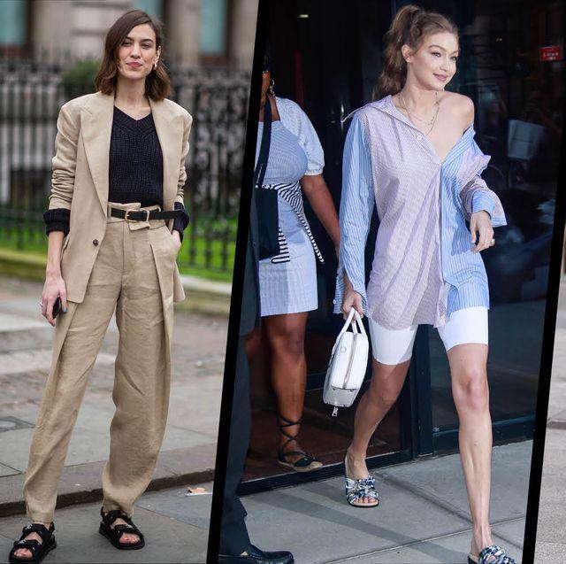 Clothing, Street fashion, Fashion model, Fashion, Footwear, Dress, Shoe, Little black dress, Shoulder, Black-and-white,