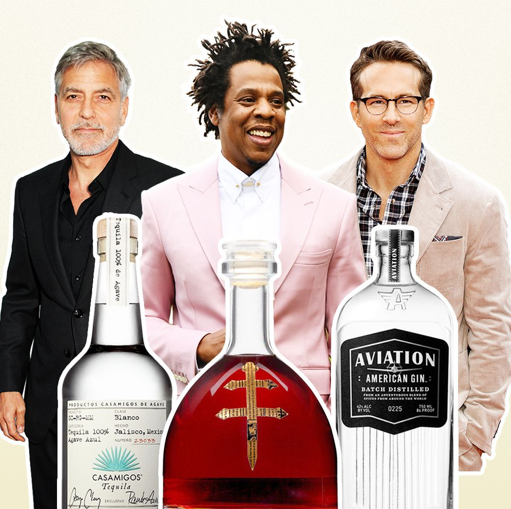 All 63 Celebrity Liquors and Spirits, Ranked