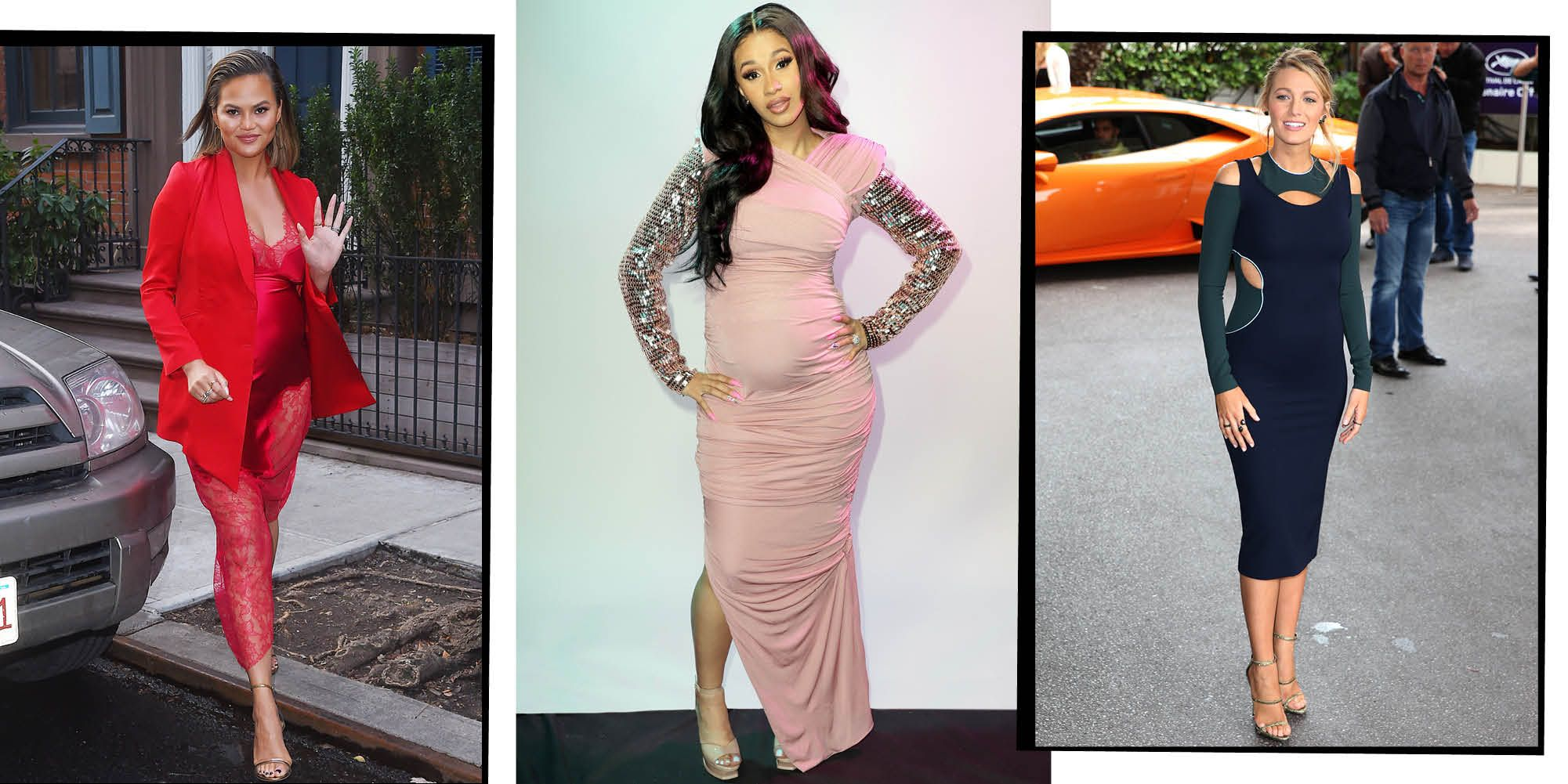 These Pregnant Celebrities Know How To Do Maternity Style