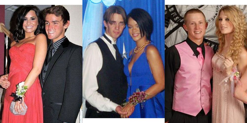 celebs at prom with fans