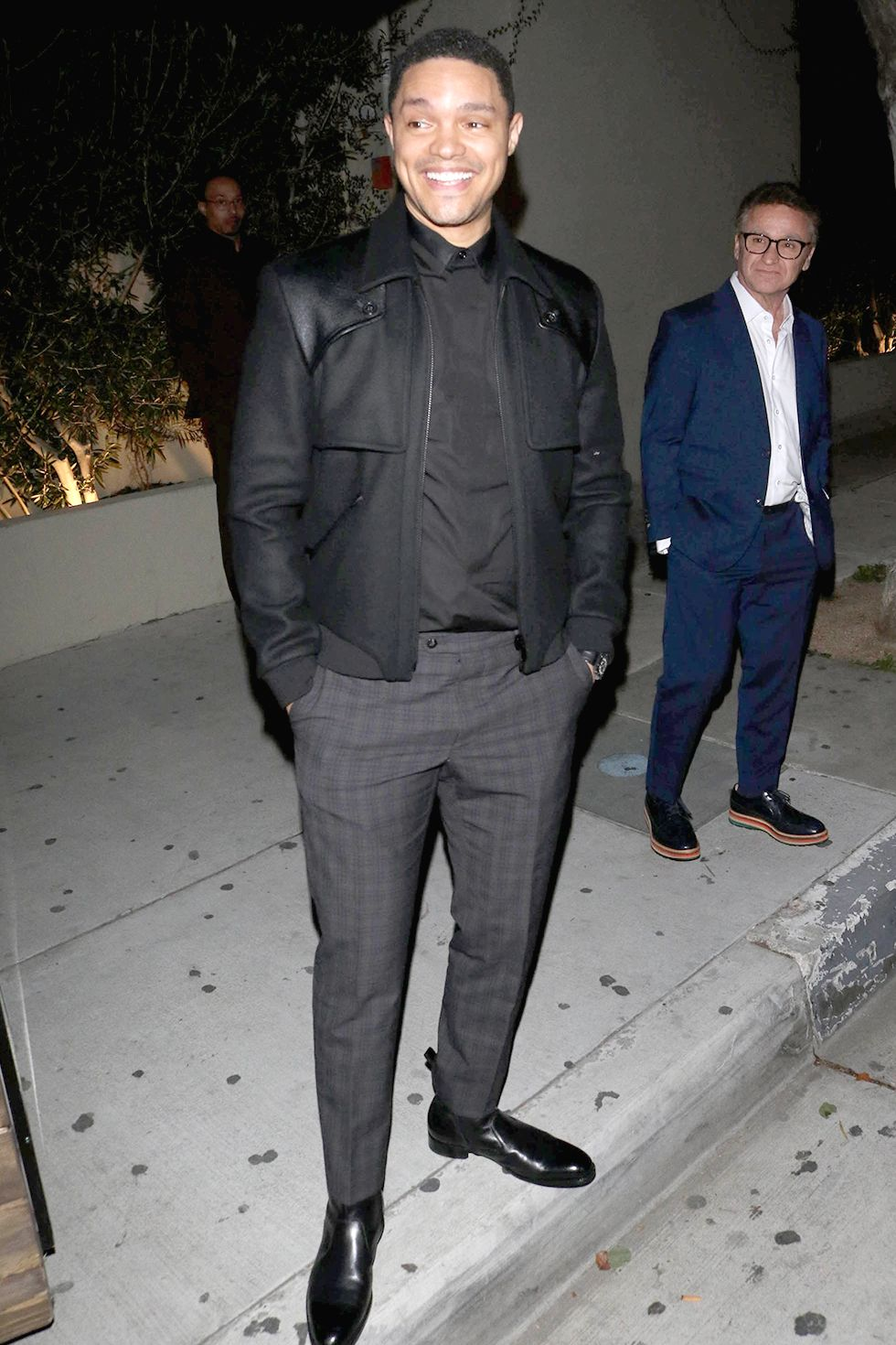 Trevor Noah Another black option, but for night.