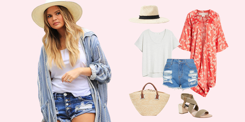 3fd4d3a766 Celebrity Beach Outfit Ideas - What to Wear to the Beach