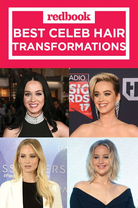 best celeb hair transformations