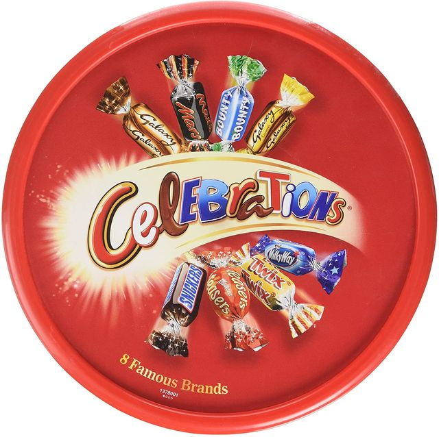 celebrations with milky way crispy rolls have been spotted