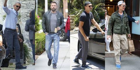Jeans, Standing, Denim, Walking, Trousers, Footwear, Cargo pants, Street fashion, Shoe, Gesture,