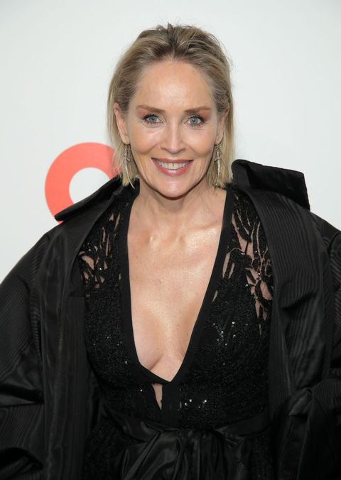 celebrities embracing aging sharon stone
