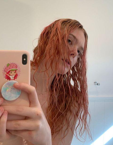 celebrities pink hair coronavirus quarantine