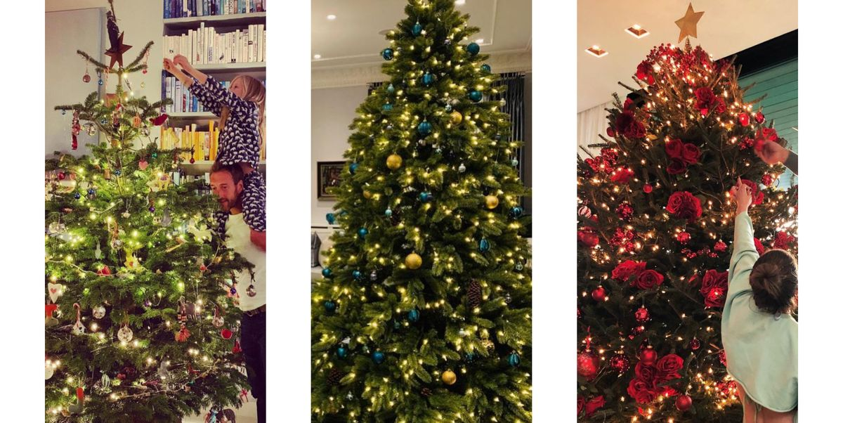 The Best Celebrity Christmas Trees 2018