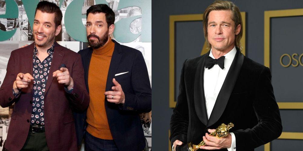 HGTV's Celebrity IOU Stars Property Brothers, Brad Pitt and More