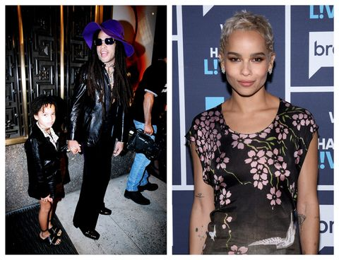 Celebrity Kids Now Zoe Kravitz