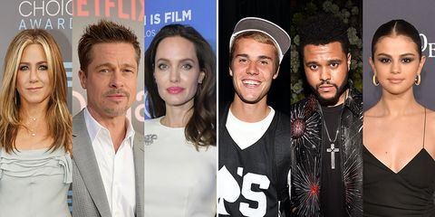 13 celebrity love triangles to seek your teeth into