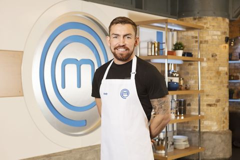 Celebrity MasterChef 2019 – Andy Grant