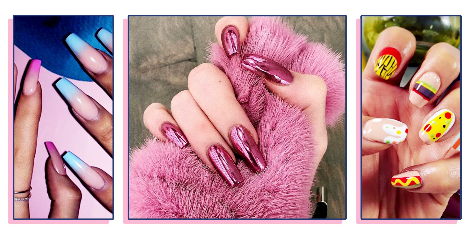 40+ Best Nail Designs of 2019 , Latest Nail Art Trends