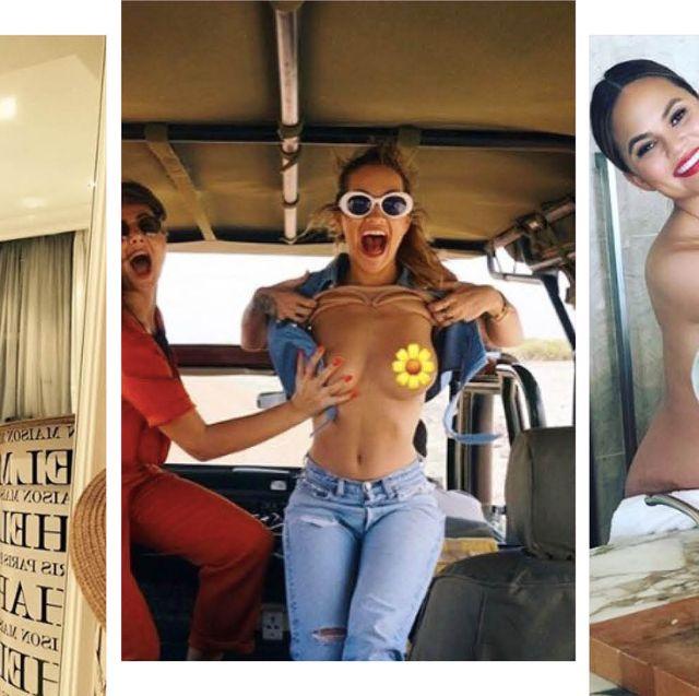 Naked Celebrity Instagram Posts