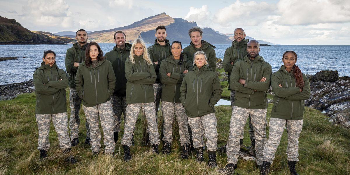 4 contestants stop Movie star SAS: Who Dares Wins