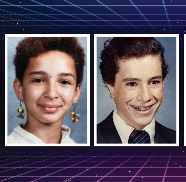 celebrity school photos
