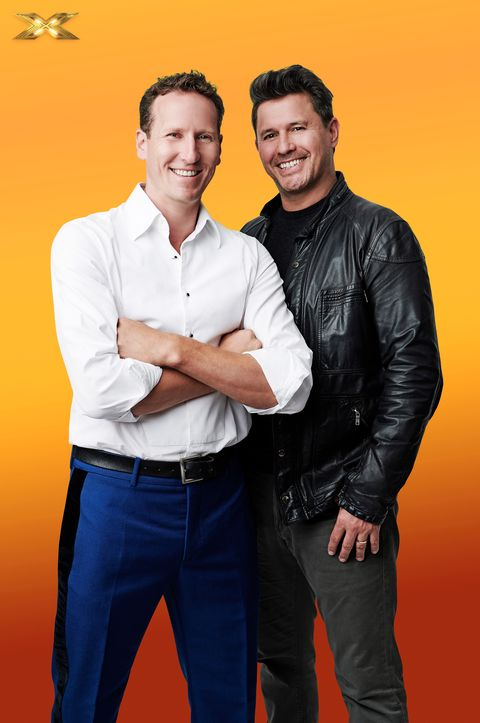 Celebrity X Factor, Brendan Cole and Jeremy Edwards