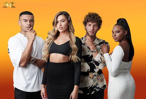Celebrity X Factor, The Islanders (Wes Nelson, Zara McDermott, Eyal Booker, Samira Mighty)