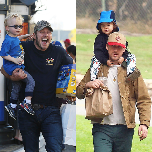 celebrity best dads cover photo
