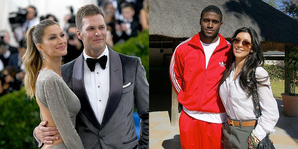 Black athletes dating white