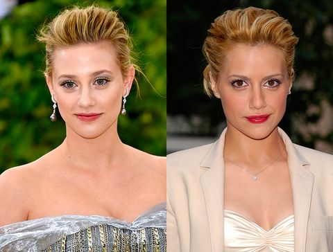 People are suddenly realising how much Lili Reinhart looks like Brittany Murphy
