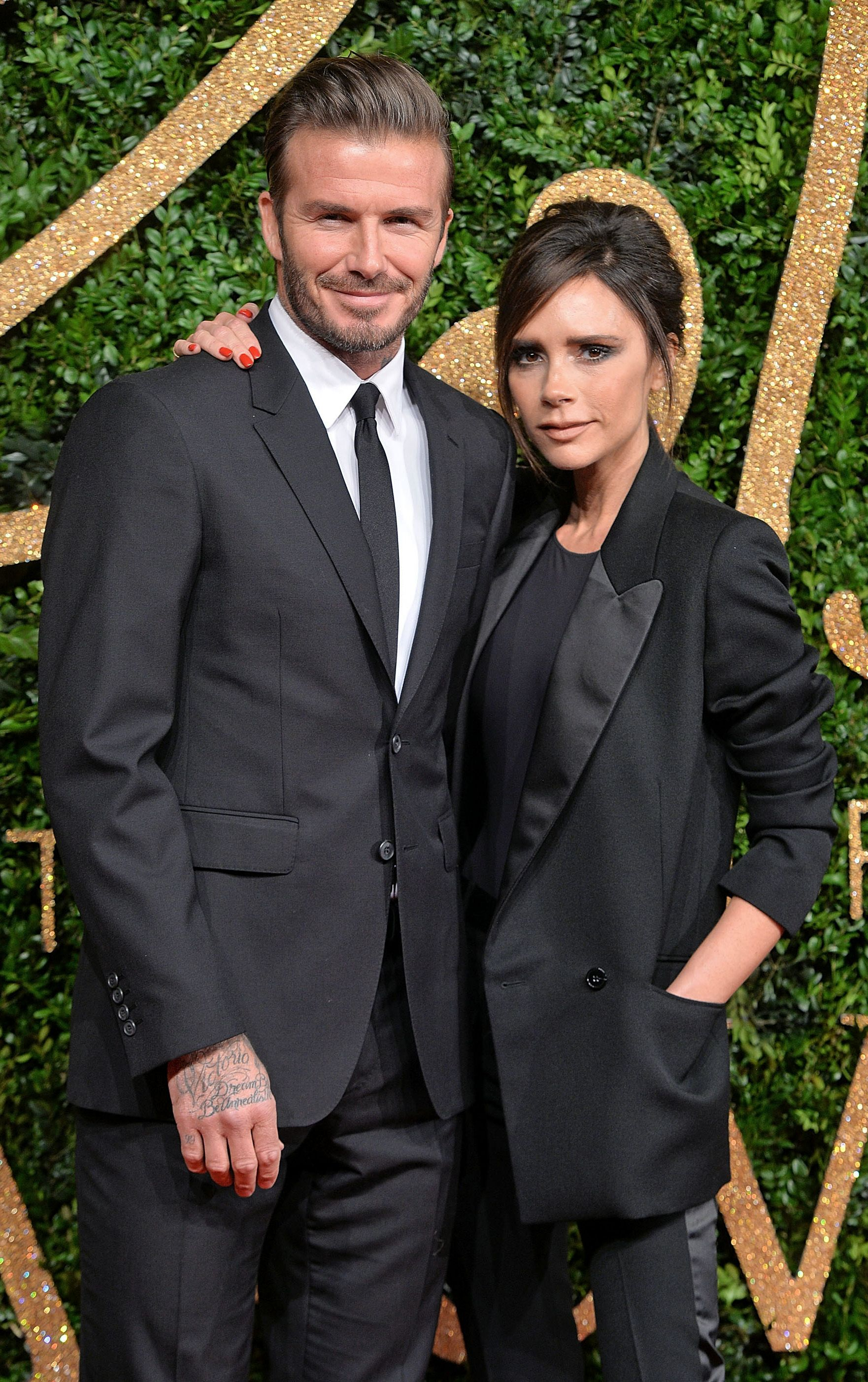 Celebs Married Crush David Beckham Victoria Beckham