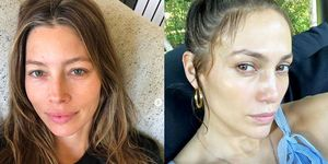 celebrities no make up - women's health uk
