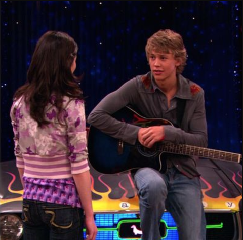 Celebs on iCarly Austin Butler