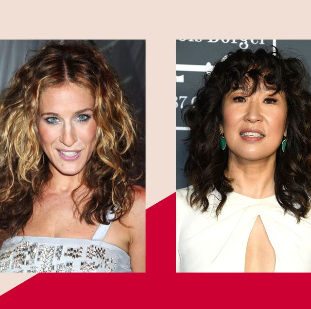Celebrities with curly hair