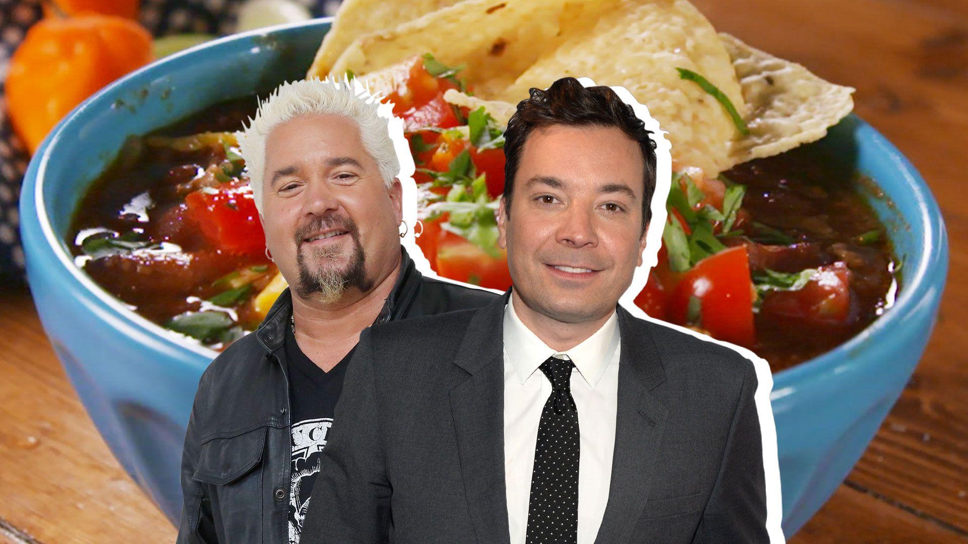 Jimmy Fallon Vs Guy Fieri Whose Chili Is Better