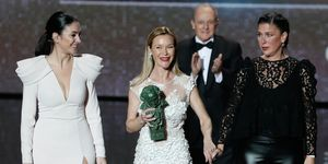 Celia Flores, María Esteve y Tamara Esteve recogen el Goya de Honor de su madre, Pepa Flores