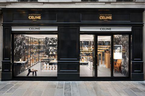 Building, Boutique, Facade, Door, Architecture, Display window,