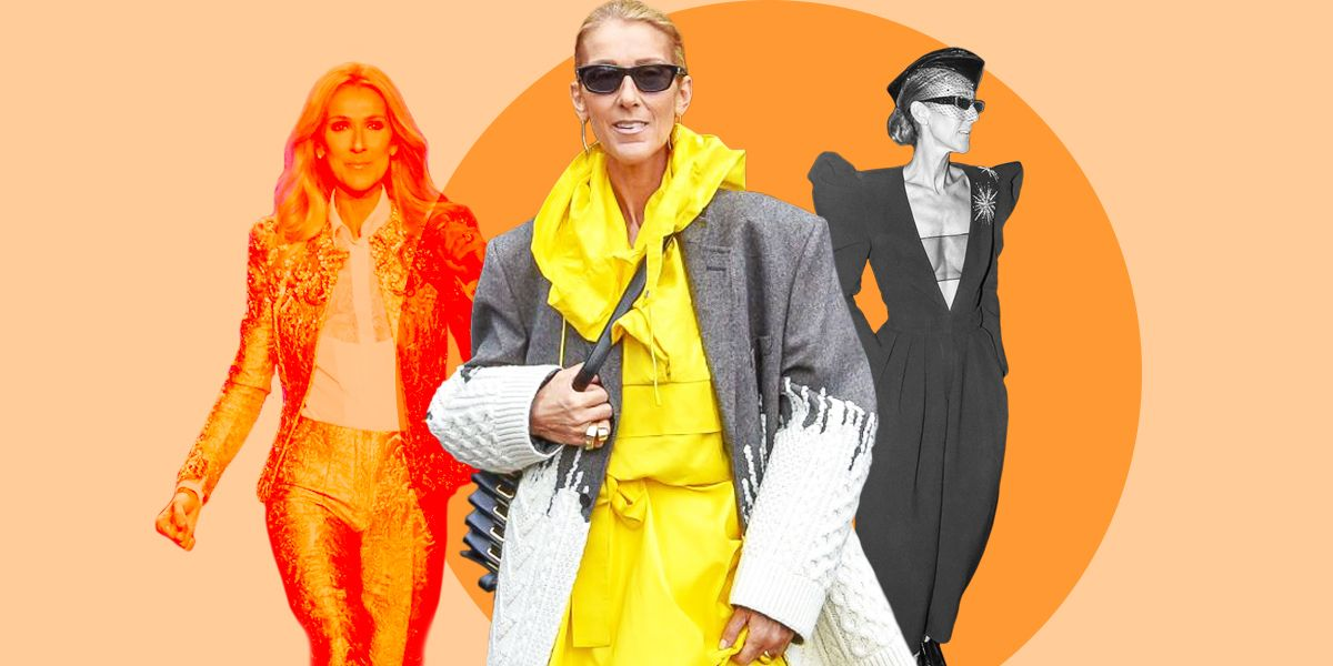 50+ of Celine Dion's Most Wildly Dramatic Outfits—But TBH, There Are Too Many to Count