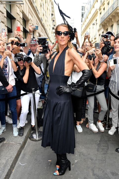 Schiaparelli : Outside Arrivals - Paris Fashion Week - Haute Couture Fall/Winter 2019/2020